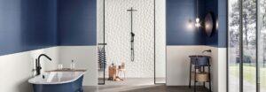Ceska Keramika Kupelnove Studio Znacka Love Tiles Kolekcia Genesis Leaf White